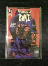 Batman Vengeance of Bane 1993 Signed Dixon  Nolan COA 2nd print. Limited edition
