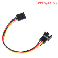1pc 5Pin to 4Pin Fan Connector Adapter Converter Extension Cable Wire Laptop HF