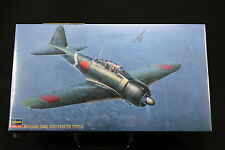 XN129 HASEGAWA 1/48 maquette avion 09117 JT17-2200 Japanese Navy Mitsubishi A6M3