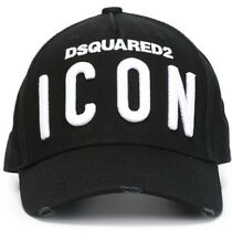 "DSQUARED2 Kappe/Cap mit ""ICON""-Patch Schwarz/Black"