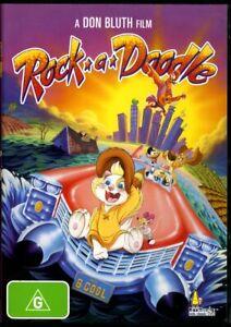 Rock-A-Doodle (1990) - Don Bluth Film - DVD - Region 4