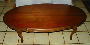 Oval Cherry Coffee Table  (CT82)