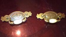 2 VINTAGE Brass Drawer/Cabinet pulls