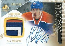 (HCW) 2013-14 SP Authentic NAIL YAKUPOV Patch Auto RC 98/100 Rookie Upper Deck