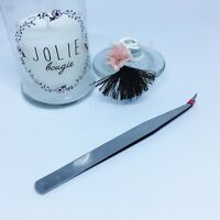 Pince brucelle pour machine à coudre et surjeteuse - Droite ou courbée 13.5 cm