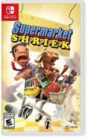 Supermarket Shriek Nintendo Switch Brand New PQUBE