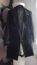 Manteau noir femme ,taille 38  marque Kenzo
