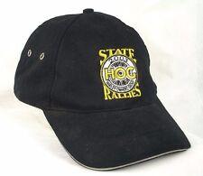 HOG Harley Owners Group State Rallies 2003 MD Black Baseball Hat Cap EUC Box Shp