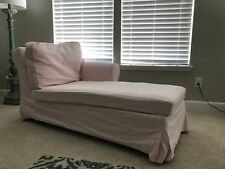 IKEA Cover for EKTORP Right Arm CHAISE Lounge SLIPCOVER Right - Blekinge Pink