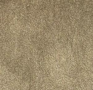 FS410 Gold & Silver Shiny Shimmery Jersey Stretchy Polyester Leather Fabric