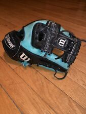 "Wilson A2000 11.5"" Superskin Baseball Glove Right Handed Thrower RC22GM Black"