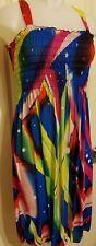 PARTY DRESS Sleeveless CRUISE Womens Size L STRAPS Dress