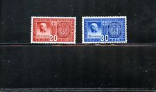 LOT 67116 MINT HR 253 254   NORWAY STAMPS