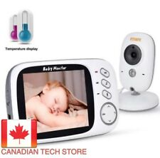 FITNATE Video Baby Monitor with 3.4inch LCD Display Wireless Digital Camera...