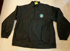 Nwot Ultra Club Rain Golf L/S,1/4 Zip Shirt,Brooklyn Brewery Beer,Lg Men,2 Pockt