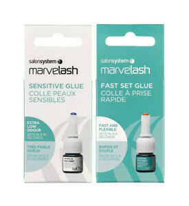 MARVELASH - LASHES GLUES, REMOVER, GLUE RINGS - Same Day Despatch