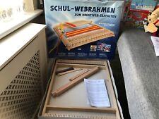 "More details for xl wooden weaving loom 21"" x 16"" schul-webrahmen 240 germany"