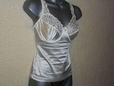 Cream Underwired Bra Camisole / Vest Size 38c