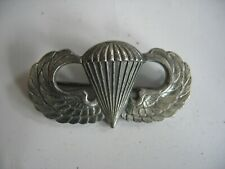 Vintage Original WWII Airborne Wings 925 Sterling Silver Paratroopers WW2