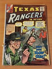 Texas Rangers in Action #55 ~ GOOD GD ~ 1966 Charlton COMICS