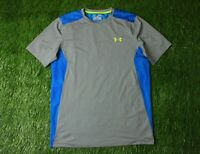 UNDER ARMOUR MENS TRAINING COMPRESSION HEATGEAR SHIRT JERSEY ORIGINAL SIZE M