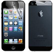 6x für iPhone 5 5S Schutzfolie MATT Displayschutzfolie Vorne Hinten Rückseite