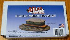 "Atlas N #4001015 Freight House Kit (Lazer Cut Building) Size: 3 7/8"" x 2 1/2"""