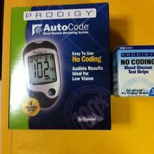 Prodigy 50 Test Strips+ Free Meter Autocode Taking(English-Spanish-French-Arabe)