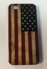 Retro Vintage American Flag Hard Back Phone Case iPhone 4+ Gift  - SZ01 +FREESP