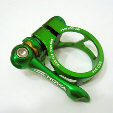 gobike88 MOWA QR Alloy Seatpost Clamp, 31.8mm, Green, 29g, A11