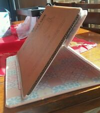 TIPO Blush Pink  Folding Case Skin Smart Cover Stand for Apple iPad 2 & 3