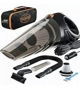 Worx Car Vacuum Cleaner - Portable High Power Handheld w/attachments AND Case!