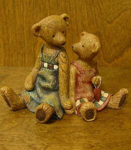 Boyds LIFE TIMES #370520 SISTERS of the HEART, folk art style resin figurine NIB