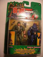 hasbro 2003 GIjoe Twin Pack DUKE COBRA COMMANDER NEUF GI joe vs Cobra
