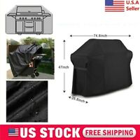 For Weber 7109 BBQ Grill Cover+ Storage Bag FOR Summit 600 Series Gas Grill