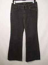 White House Black Market Black Cotton Blend Jeans w/Beaded Pockets-Size BLANC 4S