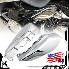 Chrome Heat Shield Mid-Frame Air Deflector Fits Harley Electra Glide Fltru 09-17