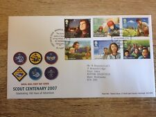 Scout Centenary 2007 Royal Mail Stamps First Day Cover