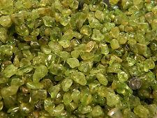 Tumbled Peridot Crystals 1/4Lb Mix Gemstones Rocks Small Stones Chips Olivine