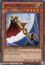 LCGX-EN026 Elemental HERO Captain Gold Common UNL Edition Mint YuGiOh Card
