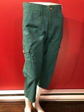 LEE Women's Green Comfort Waist Capri Pants - Size 8 Medium - NWT $48