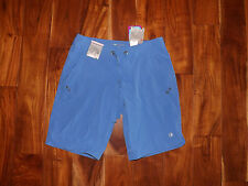 NWT Womens FREE COUNTRY Peri Mist Blue Active Board Bermuda Shorts Small (4/6)