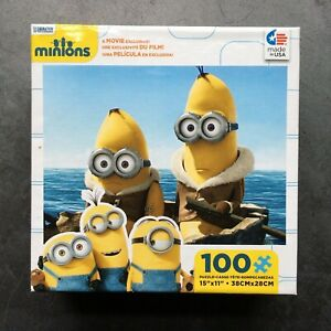 "Despicable ME Minions 100 Piece Puzzle 15"" x 11"" NEW Made in USA"