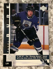 1997-98 Upper Deck Pavel Bure Game Dated #168