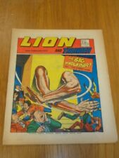 LION & THUNDER 24TH FEBRUARY 1973 BRITISH WEEKLY COMIC FLEETWAY^