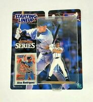 2000 MLB Extended Starting Lineup Alex Rodriguez Seattle Mariners Action Figure