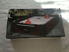 Miniature Toy Small Mini Tabletop Table Top Air Hockey Game Brand New