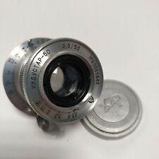 Lens industar 50  3.5/50  M39  for Leica Zorki FED