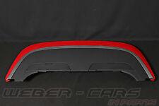 Audi S4 A4 8H Cabrio Verdeckkasten Klappe Verdeckabdeckung Heck Deckel Rot Alu