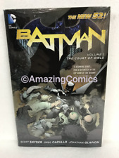 DC BATMAN VOL 1 THE COURT OF OWLS Hardcover HC by Scott Snyder - NEW MSRP $25